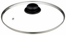 Крышка JARKO стеклянная с пароотводом JBL-28 (28 см)