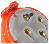 Вилка силовая (CEE) кабельная переносная Legrand 555238