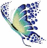 Созвездие Набор для вышивания бисером Свобода 20 х 20 см (А-09)