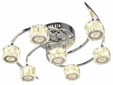 Люстра Максисвет Геометрия 1-1635-7-CR Y LED