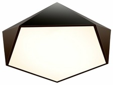 Люстра Максисвет Панель 1-7302-BK Y LED