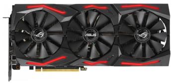 Видеокарта ASUS GeForce RTX 2060 SUPER 1470MHz PCI-E 3.0 8192MB 14000MHz 256 bit 2xHDMI HDCP STRIX GAMING Advanced