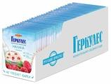 Русский Продукт Геркулес Каша моментальная овсяная с малиной и молоком, порционная (30 шт.)