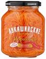 Морковка острая по-корейски ЛУКАШИНСКИЕ стеклянная банка 340 г