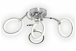Светильник Максисвет Геометрия 1-1659-4-CR Y LED