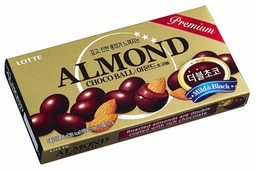 Lotte Confectionery Миндаль Lotte Almond Choco ball в молочном шоколаде