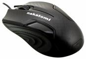 Мышь NAKATOMI MON-06U Black USB