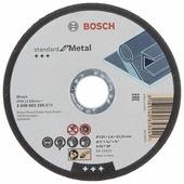 Круг отрезной 125х1,6х22 мм BOSCH Standard for Metal (2608603165)