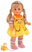 Интерактивная кукла с щенком Карапуз 40 см 16131-RU