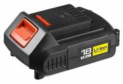 Аккумуляторный блок ЗУБР АКБ-18-Ли 15М2 18 В 1.5 А·ч