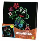 Danko Toys Набор для вышивания Изонить Лягушонок 31 х 31 см (IZN-01-07)