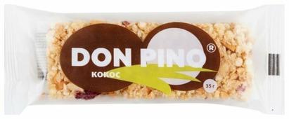 Ореховый батончик PIKKI Don Pino Кокос 35 г 1 шт
