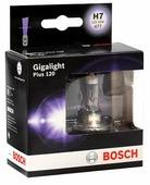 Лампа галогенная автомобильная BOSCH Gigalight Plus 120 H7 (1987302170)