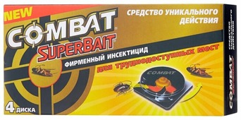 Ловушка Combat SuperBait от тараканов