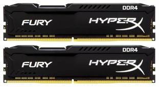 Оперативная память 4 ГБ 2 шт. HyperX HX429C17FBK2/8