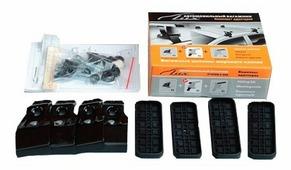 Установочный комплект Lux AlmeraSd00 на крышу за дверные проемы для Nissan Almera N16 (2000-2016), Almera Classic B10 (2006-2010)