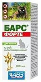 Барс (АВЗ) Форте спрей инсектоакарицидный для кошек