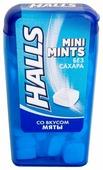 Леденцы Halls Mini mints со вкусом мяты 12.5 г