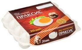 Яйцо перепелиное Праксис пищевое 20 шт.