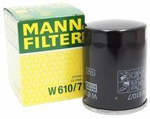 Масляный фильтр MANNFILTER W610/7