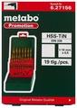Набор сверл Metabo 627156000, 19 шт.