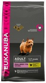 Корм для собак Eukanuba для здоровья кожи и шерсти, курица (для мелких пород)