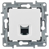 Розетка для интернета / телефона Legrand Etika 672241, белый