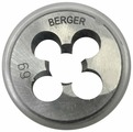 Плашка BERGER BG1008 метрическая м10х1.5мм