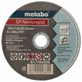 Диск отрезной 150x1x22.23 Metabo SP-Novorapid INOX