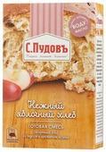 С.Пудовъ Смесь для выпечки хлеба Нежный яблочный хлеб, 0.5 кг
