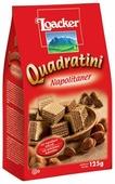 Вафли Loacker Quadratini Napolitaner 125 г