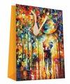 Пакет подарочный Perfect Craft Двое под зонтом 18 х 24 х 8 см