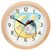 Часы настенные кварцевые Вега Котёнок на луне