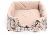 Лежак для собак, для кошек Зоогурман Домосед 45х45х45 см