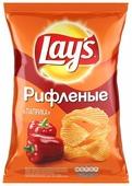 Lay's Чипсы Lay s картофельные Паприка рифленые