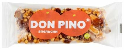 Ореховый батончик PIKKI Don Pino Апельсин 35 г 1 шт