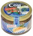 Два рыбака Консервы Сом натуральный с добавлением масла, 220 г