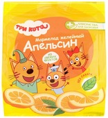 Мармелад Лакомства для здоровья Желейный Три кота Апельсин 35 г