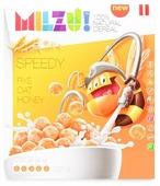 Готовый завтрак MILZU! Шарики злаковые с медом, коробка
