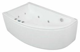 Ванна POOLSPA LAURA 150x90 ECONOMY 1 акрил угловая