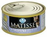 Корм для кошек Farmina Matisse с сардиной 85 г
