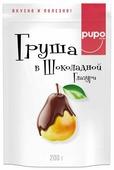 Груша Pupo, темный шоколад
