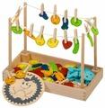 Развивающая игрушка Мир деревянных игрушек Ежик Д440