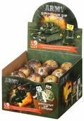 Шоколадное яйцо SLUBAN Army с игрушкой, молочный шоколад коробка