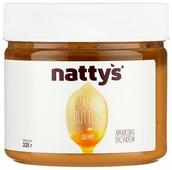 Nattys Паста-крем арахисовая Creamy с мёдом