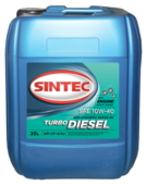 Моторное масло SINTEC Turbo Diesel 10W-40 20 л