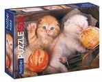 Пазл Hatber Premium Котиков много не бывает (1500ПЗ1_19274), 1500 дет.