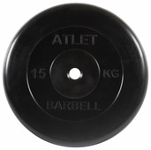 Диск MB Barbell MB-AtletB26 15 кг