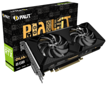 Видеокарта Palit GeForce RTX 2060 SUPER 1470MHz PCI-E 3.0 8192MB 14000MHz 256 bit DVI DisplayPort HDMI HDCP DUAL