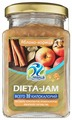 Джем низкокалорийный Biomeals Dieta-Jam Яблоко-корица без сахара, банка 230 г